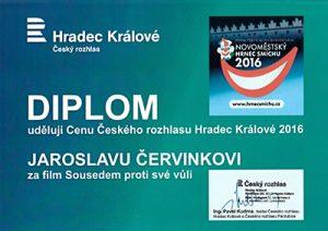 Diplom ČR HK